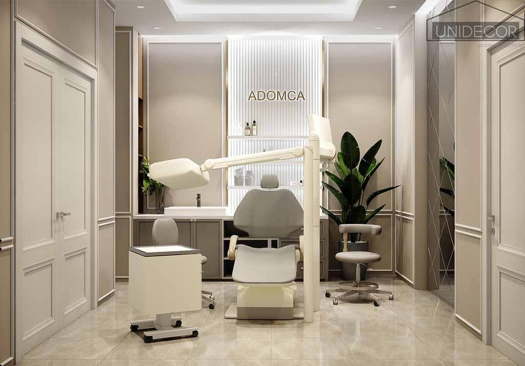 Thiết kế nội thất phòng khám răng