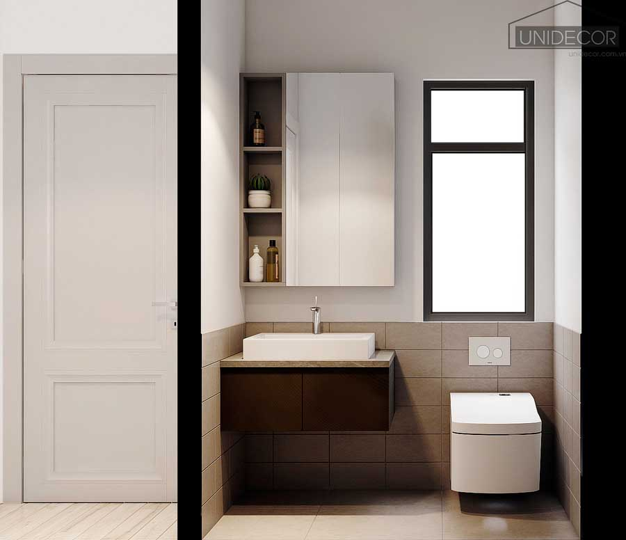Bồn rửa tay toilet sang trọng