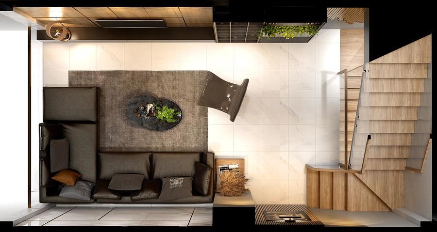 Tổng thể thiết kế nội thất nhà phố tại Bà Rịa - Vũng Tàu