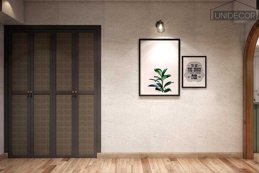 Nội thất căn hộ trong phòng ngủ vợ chồng