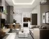 Phòng khách được thiết kế sang trọng