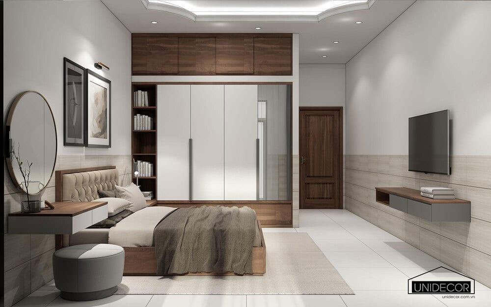 Giường, Kệ tivi, tủ đồ được làm bằng Gỗ mdf An Cường chất lượng cao