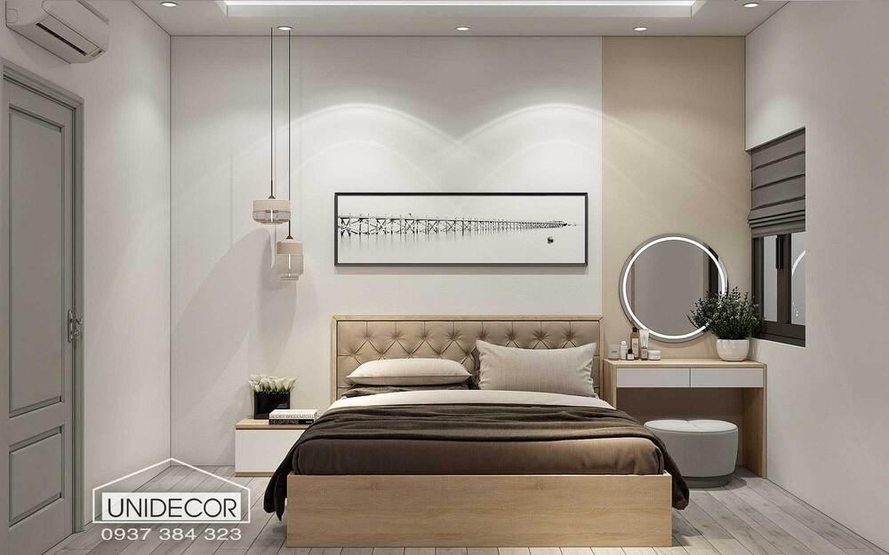 Nội thất phòng ngủ nhà phố anh Hưng tại Vũng Tàu