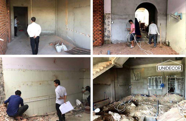 Một số hình ảnh thi công cũ nhà sửa chữa