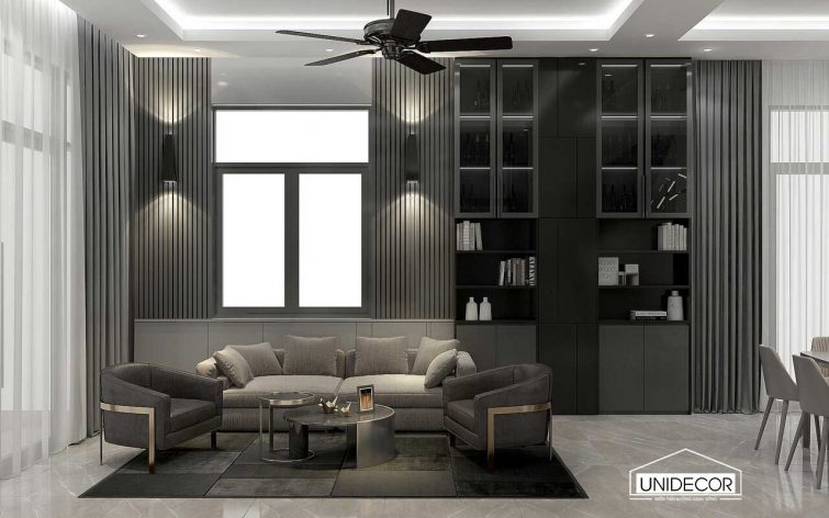 Phong cách nội thất hiện đại nhà phố