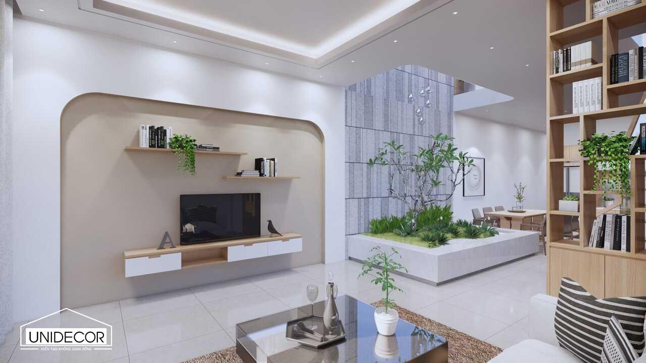 Nội thất tối giản để không gian thêm thoáng đãng