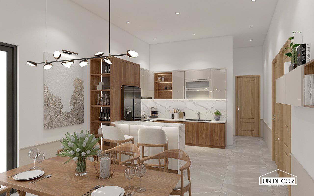Full nội thất khu vực bếp
