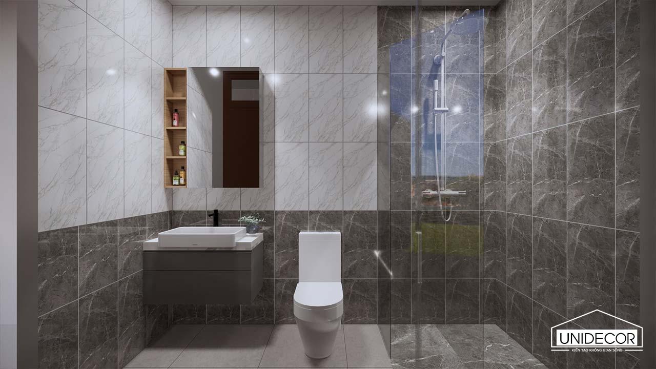 Phòng vệ sinh full nội thất