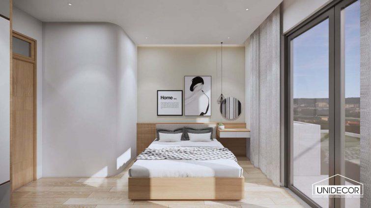 Phòng ngủ phong cách tối giản