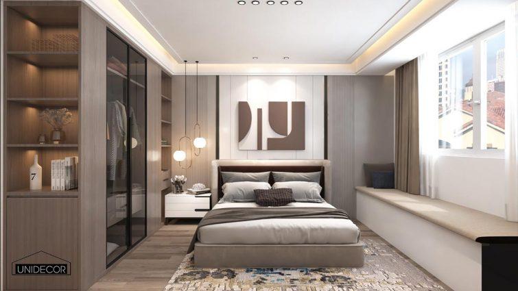 Phòng ngủ không gian hiện đại