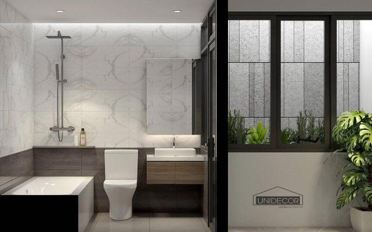 Toilet trang bị phòng tắm nằm ngâm mình thư giãn