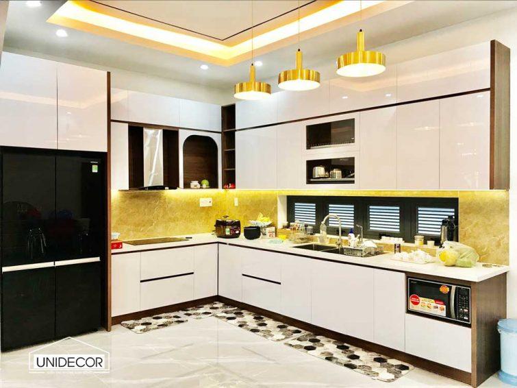 Hoàn thiện cải tạo không gian bếp đẹp nhà ống
