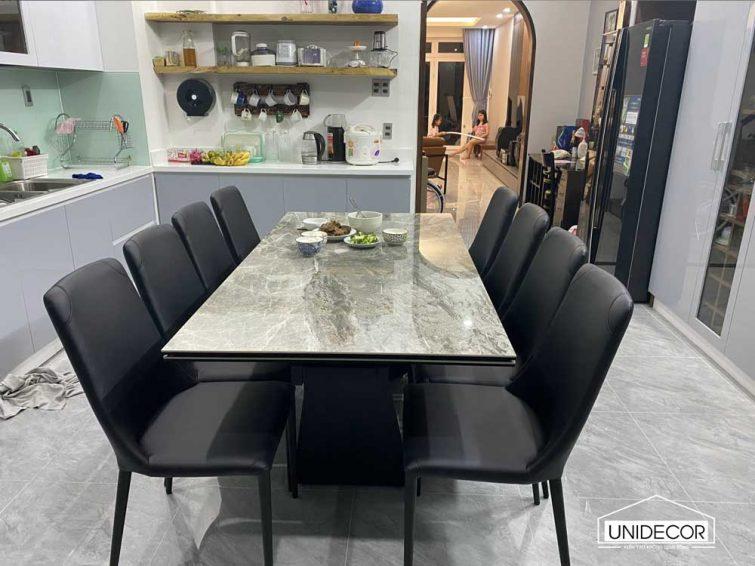 Bộ bàn phòng ăn được nhập khẩu từ Ý