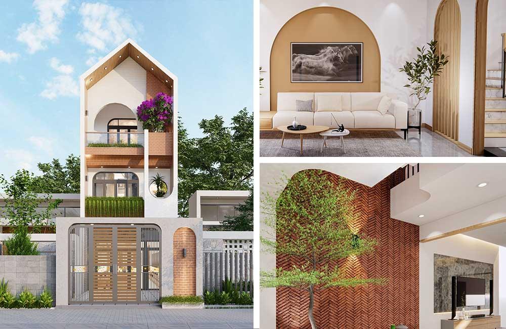 Thiết kế kiến trúc nhà 3 tầng đẹp
