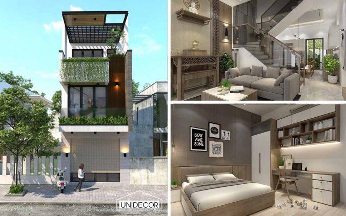 Thiết kế nhà chị Huyền Vũng Tàu