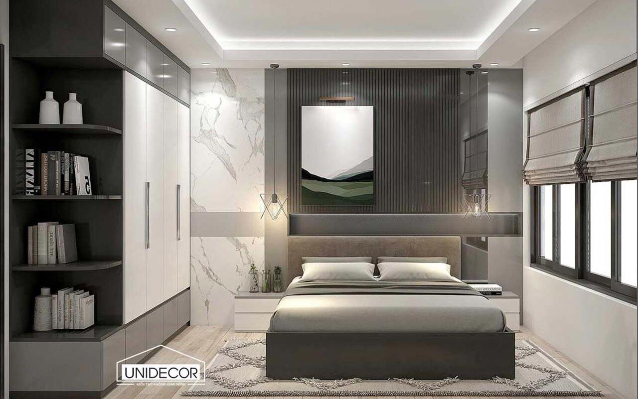 Thiết kế phòng ngủ nhà phố Bà Rịa