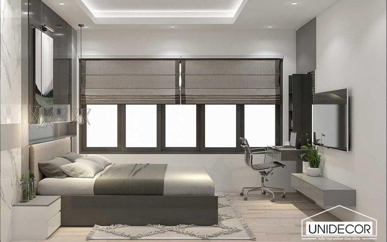 Thiết kế phòng ngủ diện đại
