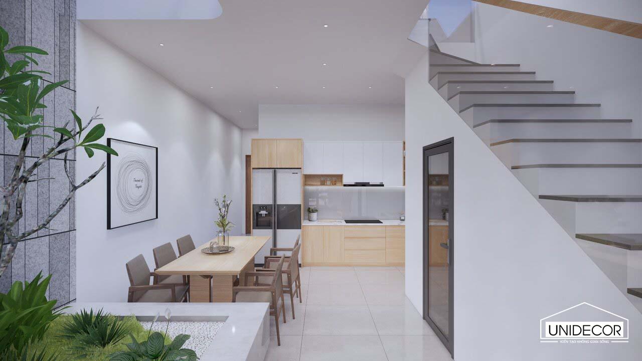 Nội thất bếp nhà phố