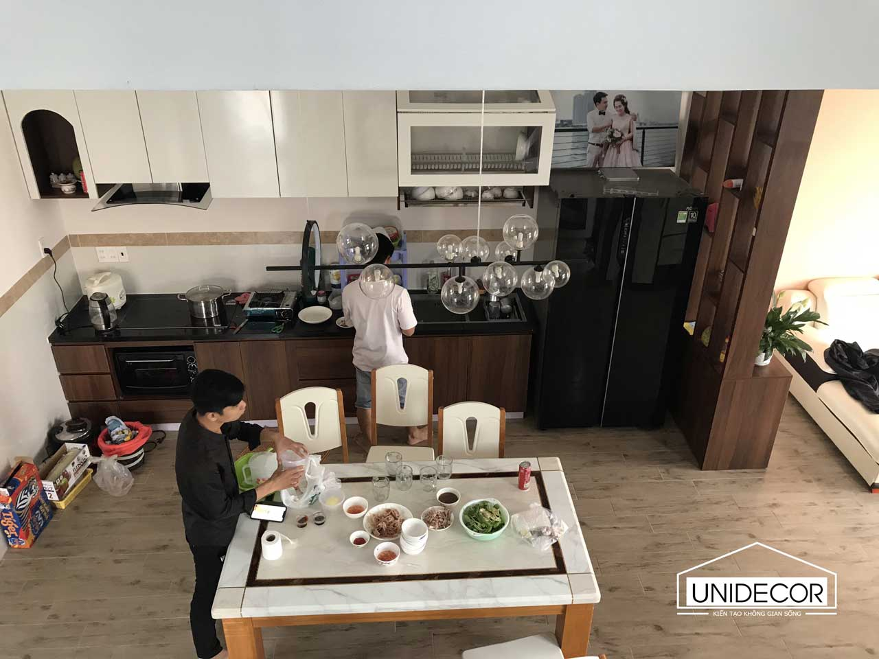Phòng bếp hoàn thiện