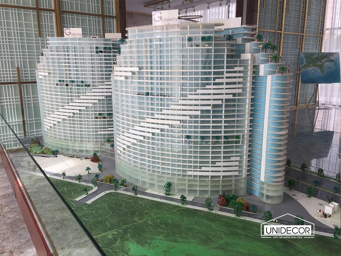 Mô hình căn hộ Gateway Vũng Tàu
