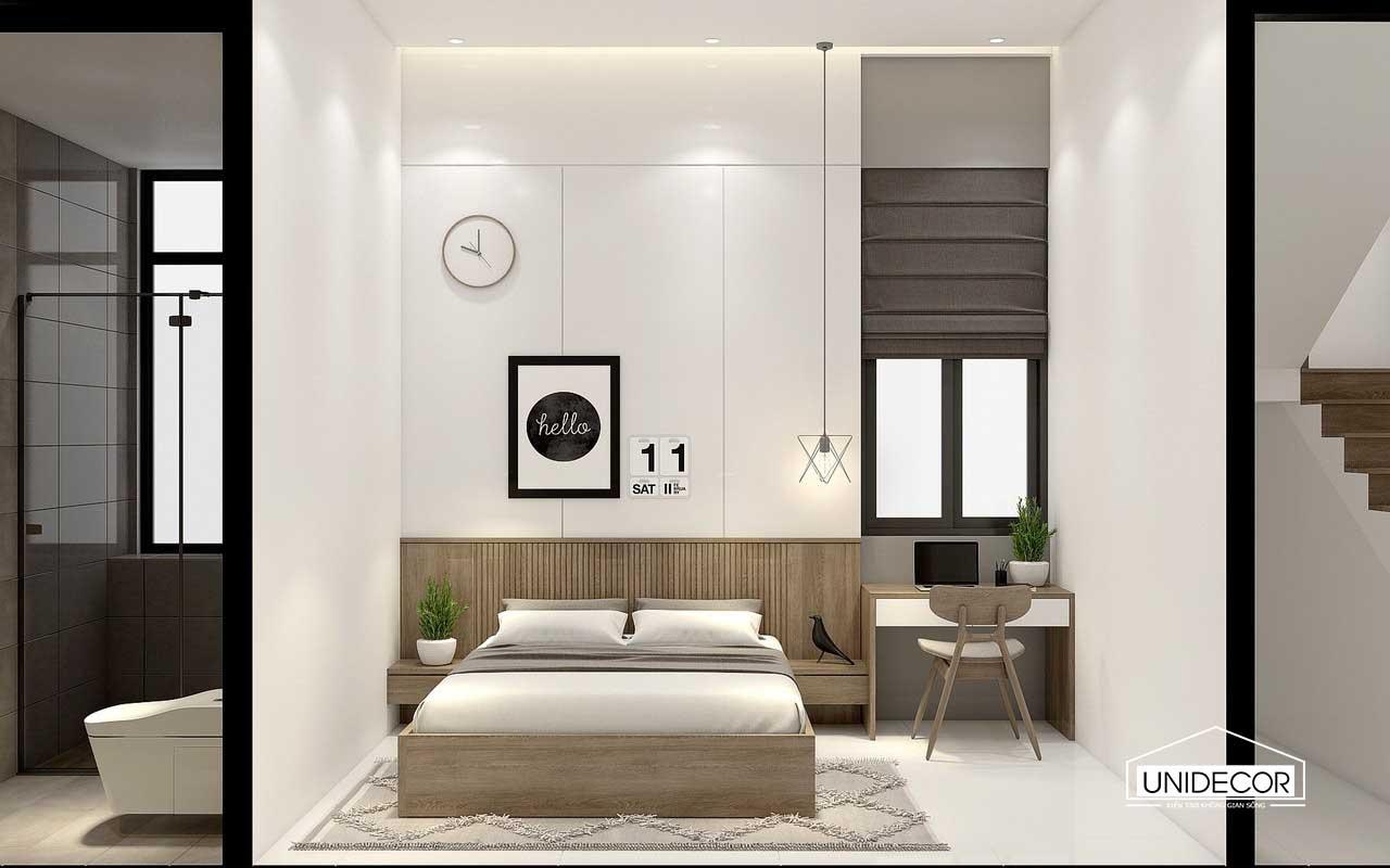 Nội thất phòng ngủ con trai tầng 1