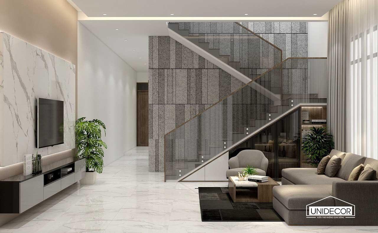 Tông quan nội thất tầng 1